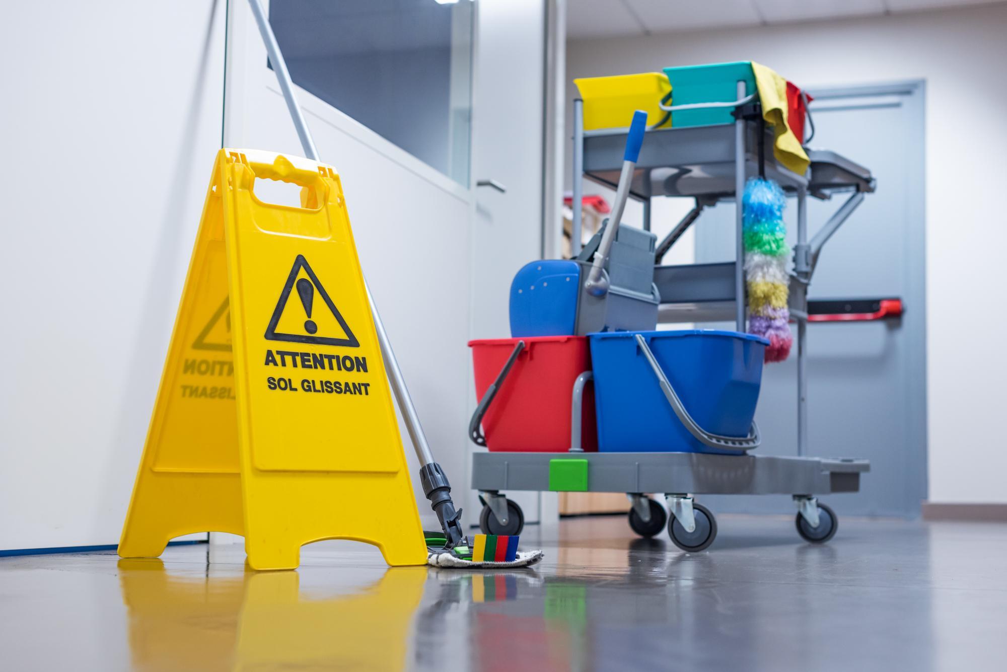 Nettoyage de bureaux et locaux