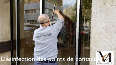 Désinfection des copropriétés à Marseille - COVID 19